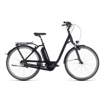 Vélo Electrique Cube Town Hybrid Pro 500 Easy Entry Noir/Gris 2018 (132201)