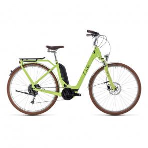 Cube - Promo Vélo Electrique Cube Elly Ride Hybrid 400 Easy Entry Vert/Noir 2018 (132510)