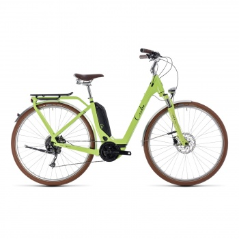Vélo Electrique Cube Elly Ride Hybrid 400 Easy Entry Vert/Noir 2018 (132510)
