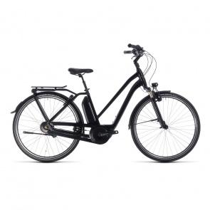 Cube - Promo Vélo Electrique Cube Town Hybrid Pro 400 Trapèze Noir/Gris 2018 (132200)