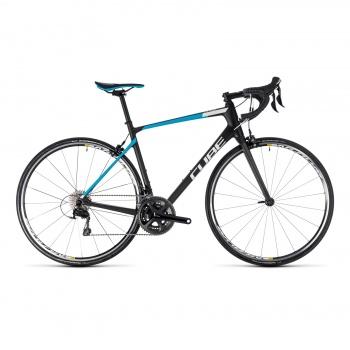Vélo de Course Cube Attain GTC Pro Carbone/Bleu 2018