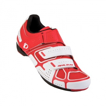 Chaussures Route Pearl IZumi Select RD III Blanc/Rouge
