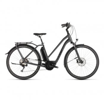 Vélo Electrique Cube Town Hybrid Sport 400 Trapèze Noir 2018 (132400)