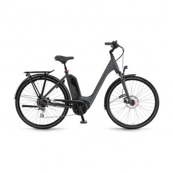 Vélo Electrique Winora Sinus Tria 8 400 Easy Entry Gris Mat 2019 (44225089)