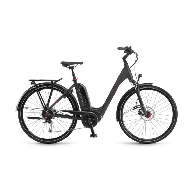 Vélo Electrique Winora Sinus Tria 9 500 Easy Entry Noir Mat 2020 (44245099)