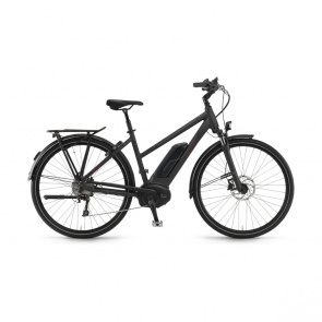 Winora - Promo Vélo Electrique Winora Sinus Tria 10 500 Trapèze Noir Mat 2019 (44281108)