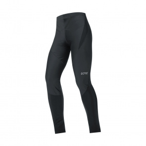 Gore Bike Wear Gore Wear C3 Partial Windstopper Lange Fietsbroek zonder Bretellen Zwart 2019-2020