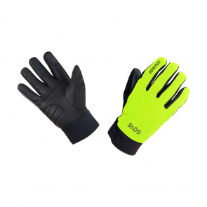 Gore Bike Wear Gants Gore Wear C5 Gore-Tex Thermo Jaune Néon/Noir 2018-2019