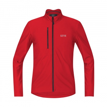 Maillot Manches Longues Gore Wear C3 Thermo Rouge 2018-2019