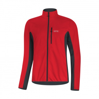 Veste Gore Wear C3 Classic Thermo Rouge/Noir 2018-2019