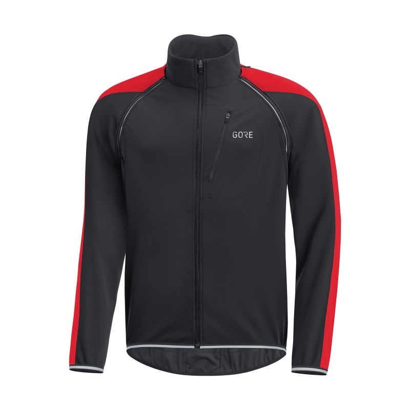 Veste Gore Wear C3 Phantom Noir/Rouge 2018-2019
