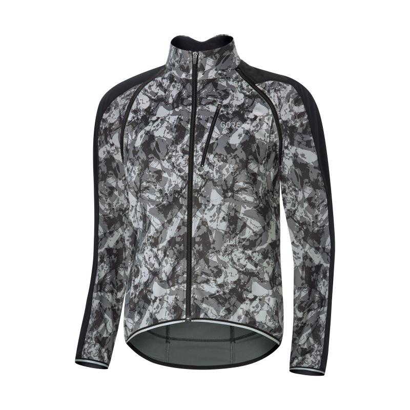 Gore Wear C3 Phantom Jas Camo Grijs/Camo Zwart 2018-2019