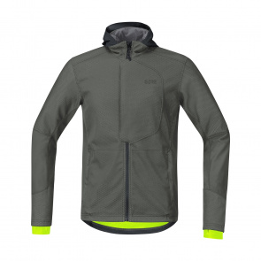 Gore Bike Wear Veste Gore Wear C3 Windstopper Urban Gris Castor 2018-2019