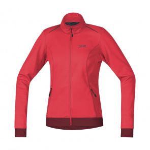 Gore Bike Wear Veste Femme Gore Wear C3 Thermo Rose/Rouge Châtaigne 2018-2019