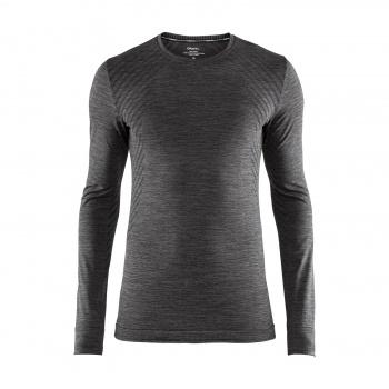 Craft Fuseknit Comfort Ondershirt met Lange Mouwen Zwart Melange 2018-2019