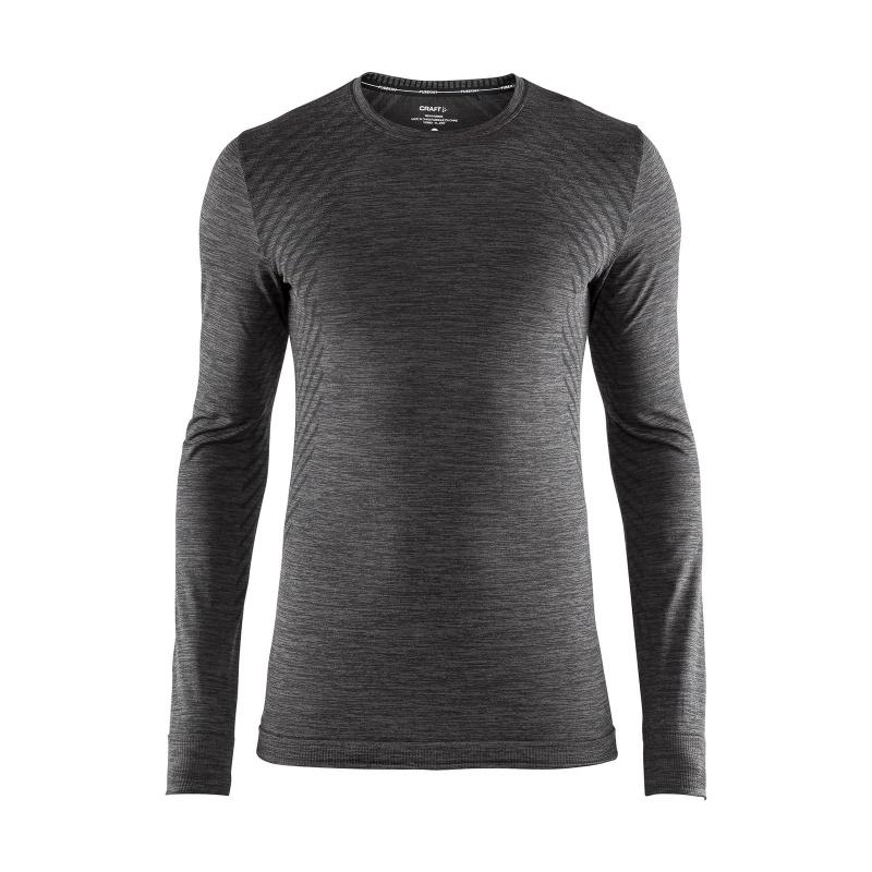 Sous-vêtement Manches Longues Craft Fuseknit Comfort Noir Mélange 2018-2019