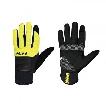 Northwave Power 3 Gel Handschoenen Zwart/Fluo Geel 2018-2019