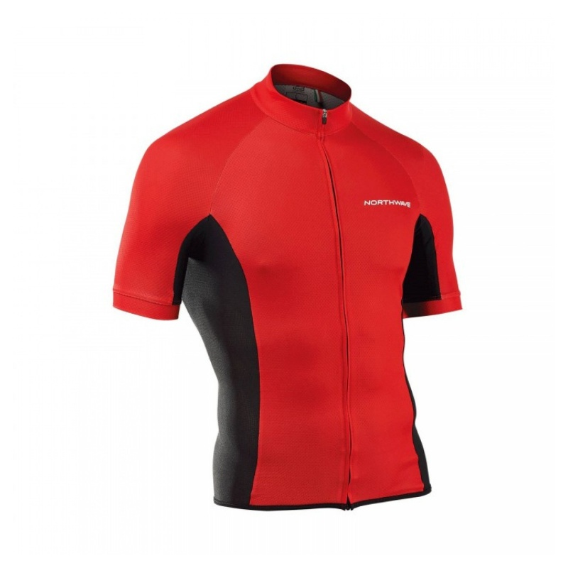 Maillot Manches Courtes Northwave Force Rouge 2020