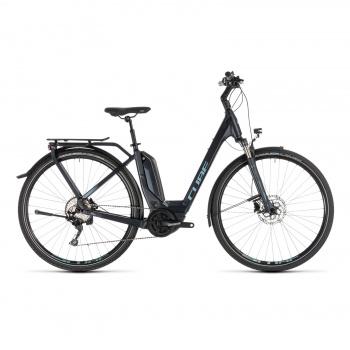 Vélo Electrique Cube Touring Hybrid Pro 500 Easy Entry Bleu Foncé/Bleu 2019 (231160)