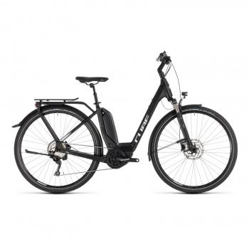 Vélo Electrique Cube Touring Hybrid Pro 500 Easy Entry Noir/Blanc 2019 (231150)