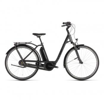 Vélo Electrique Cube Town Hybrid Pro 400 Easy Entry Iridium/Noir 2019 (232100)