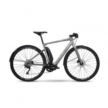 Vélo Electrique BMC Alpenchallenge AMP City One Gris/Noir/Noir 2019 (301606)