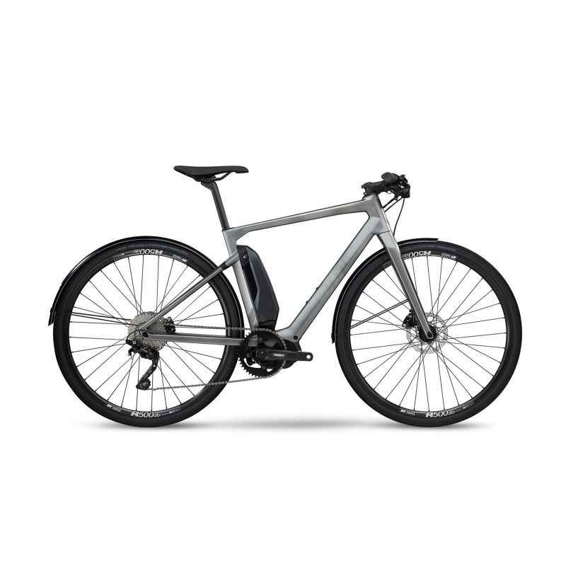 Vélo Electrique BMC Alpenchallenge AMP City One Gris/Noir/Noir 2020 (301606) (301606/302008)