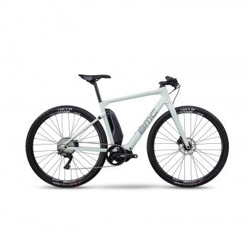Vélo Electrique BMC Alpenchallenge AMP Cross One Blanc/Bleu/Rouge 2020 (301602)