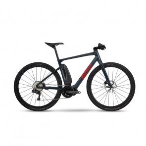 BMC 2020 Vélo Electrique BMC Alpenchallenge AMP Cross LTD Bleu/Rouge/Rouge 2019 (301501)