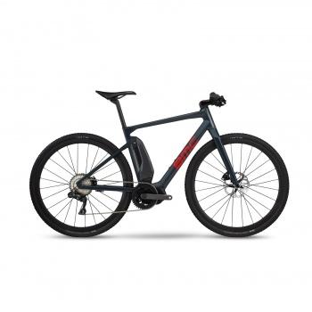 Vélo Electrique BMC Alpenchallenge AMP Cross LTD Bleu/Rouge/Rouge 2020 (301501)