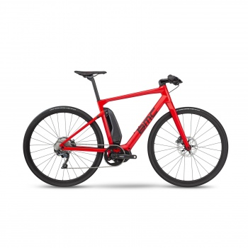 Vélo Electrique BMC Alpenchallenge AMP Sport LTD Rouge/Noir/Noir 2019 (301500)