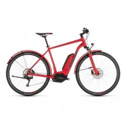 Cube 2019 Vélo Electrique Cube Cross Hybrid Pro Allroad 500 Rouge/Gris 2019 (230261)