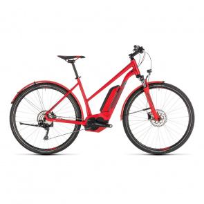 Cube 2019 Vélo Electrique Cube Cross Hybrid Pro Allroad 500 Trapèze Rouge/Gris 2019 (230261)