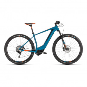 "Cube 2019 VTT Electrique 29"" Cube Elite Hybrid C:62 Race 500 Bleu/Orange 2019"