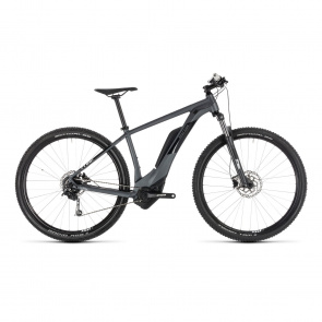 "Cube 2019 VTT Electrique 29"" Cube Reaction Hybrid One 400 Iridium/Blanc 2019"