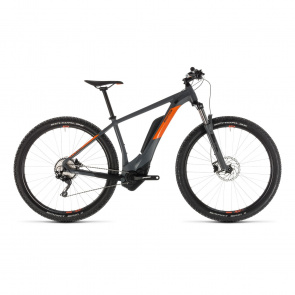 "Cube - Promo VTT Electrique 29"" Cube Reaction Hybrid Pro 500 Gris/Orange 2019 (234111)"