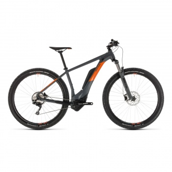 "VTT Electrique 29"" Cube Reaction Hybrid Pro 500 Gris/Orange 2019 (234111)"