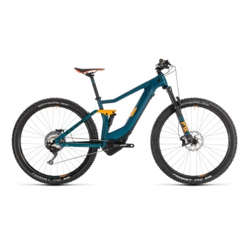 "VTT Electrique 29"" Cube Stereo Hybrid 120 HPC SL 500 Kiox Pinetree/Orange 2019 (235261)"
