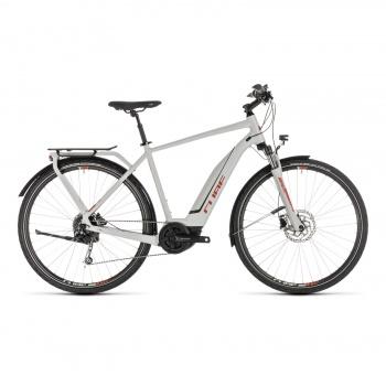 Vélo Electrique Cube Touring Hybrid 500 Gris/Orange 2019 (231111)