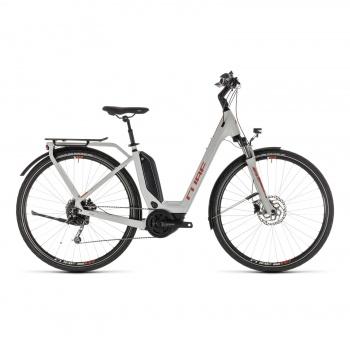 Vélo Electrique Cube Touring Hybrid 400 Easy Entry Gris/Orange 2019 (231110)