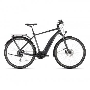Vélo Electrique Cube Touring Hybrid 400 Iridium/Noir 2019 (231100)