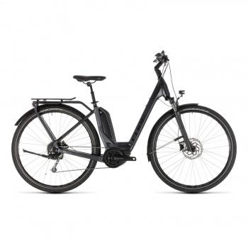 Vélo Electrique Cube Touring Hybrid 400 Easy Entry Iridium/Noir 2019 (231100)