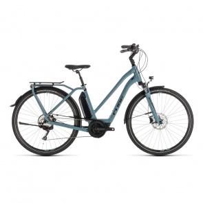 Cube 2019 Vélo Electrique Cube Town Sport Hybrid Pro 400 Trapèze Bleu/Noir 2019 (232410)