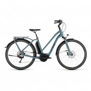 Cube 2019 Vélo Electrique Cube Town Sport Hybrid Pro 500 Trapèze Bleu/Noir 2019 (232411)