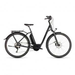 Cube - Promo Vélo Electrique Cube Town Sport Hybrid Pro 400 Easy Entry Iridium/Noir 2019 (232400)