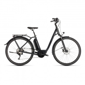 Vélo Electrique Cube Town Sport Hybrid Pro 400 Easy Entry Iridium/Noir 2019 (232400)