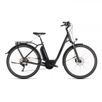 Vélo Electrique Cube Town Sport Hybrid Pro 500 Easy Entry Iridium/Noir 2019 (232401)