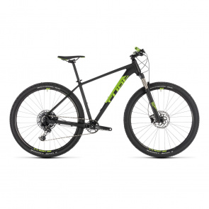 "Cube - Promo Cube Acid Eagle 29"" MTB Zwart/Flash Groen 2019 (204110)"