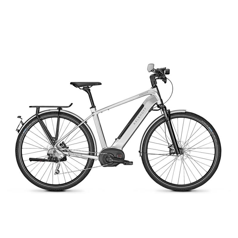 Vélo Electrique 45 km/h Kalkhoff Endeavour 5 B45 Move 500 Argent Smoke 2019 (633528920-23) (633528923)