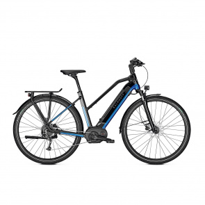 Kalkhoff - 2019 Vélo Electrique Kalkhoff Endeavour 5 B9 Move Trapèze Bleu/Noir Brillant 2019 (633529314-6)